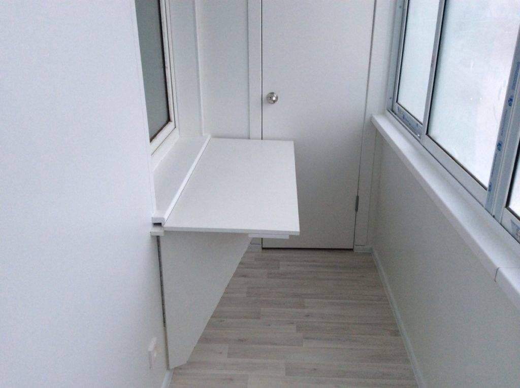 Подоконник на балконе: установка своими руками