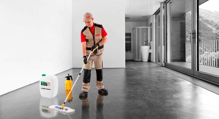 Чем обработать бетонный пол, чтобы не пылил  — эффективные методы