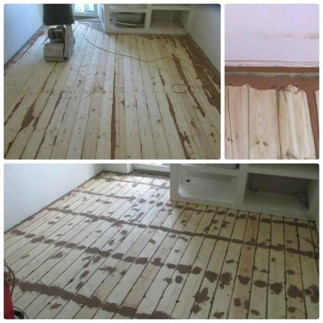 Деревянные полы в хрущёвке - ремонт и реставрация