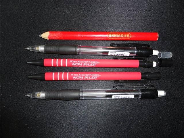 Для чего и почему строительный карандаш не круглый. Чем канцелярский карандаш отличается от строительного
