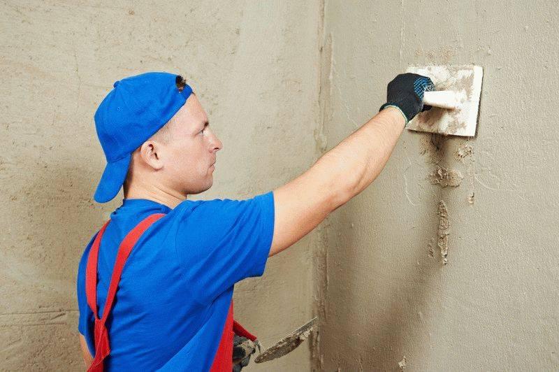 Самостоятельное нанесение гипсовой штукатурки на стены