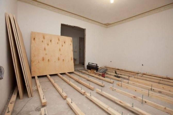 Убираем старый пол в квартире. как перестелить деревянный пол в квартире: полная замена деревянного пола с пошаговым процессом