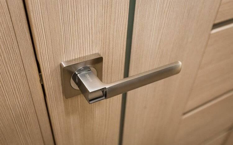 Двери с отделкой из экошпона: плюсы и минусы