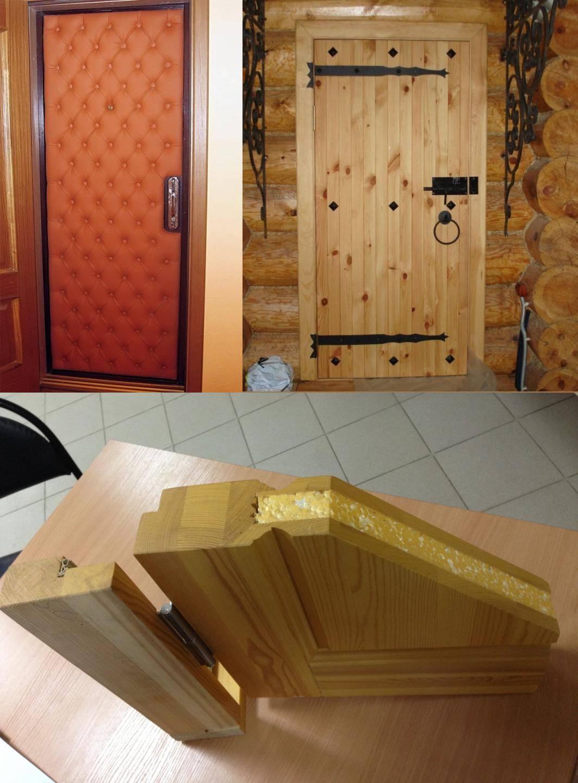 Как сделать входную дверь своими руками?