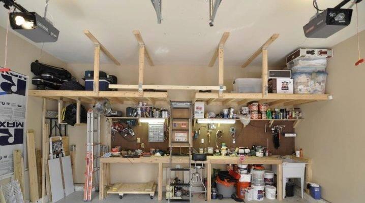 Cамоделки для гаража - полезные идеи