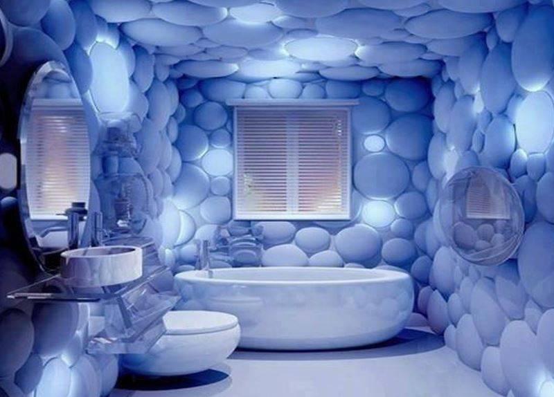 Пластиковые 3D панели для ванной: фото, разновидности, достоинства