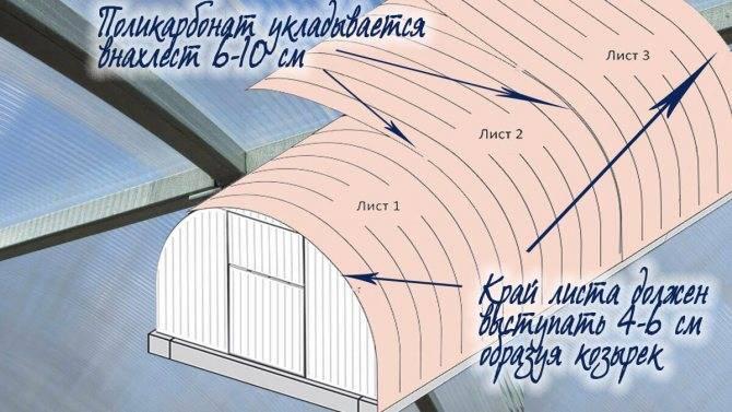 Как и чем крепить поликарбонат – рекомендации мастеров