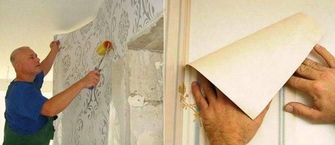 Как клеить обои под покраску, правильно своими руками