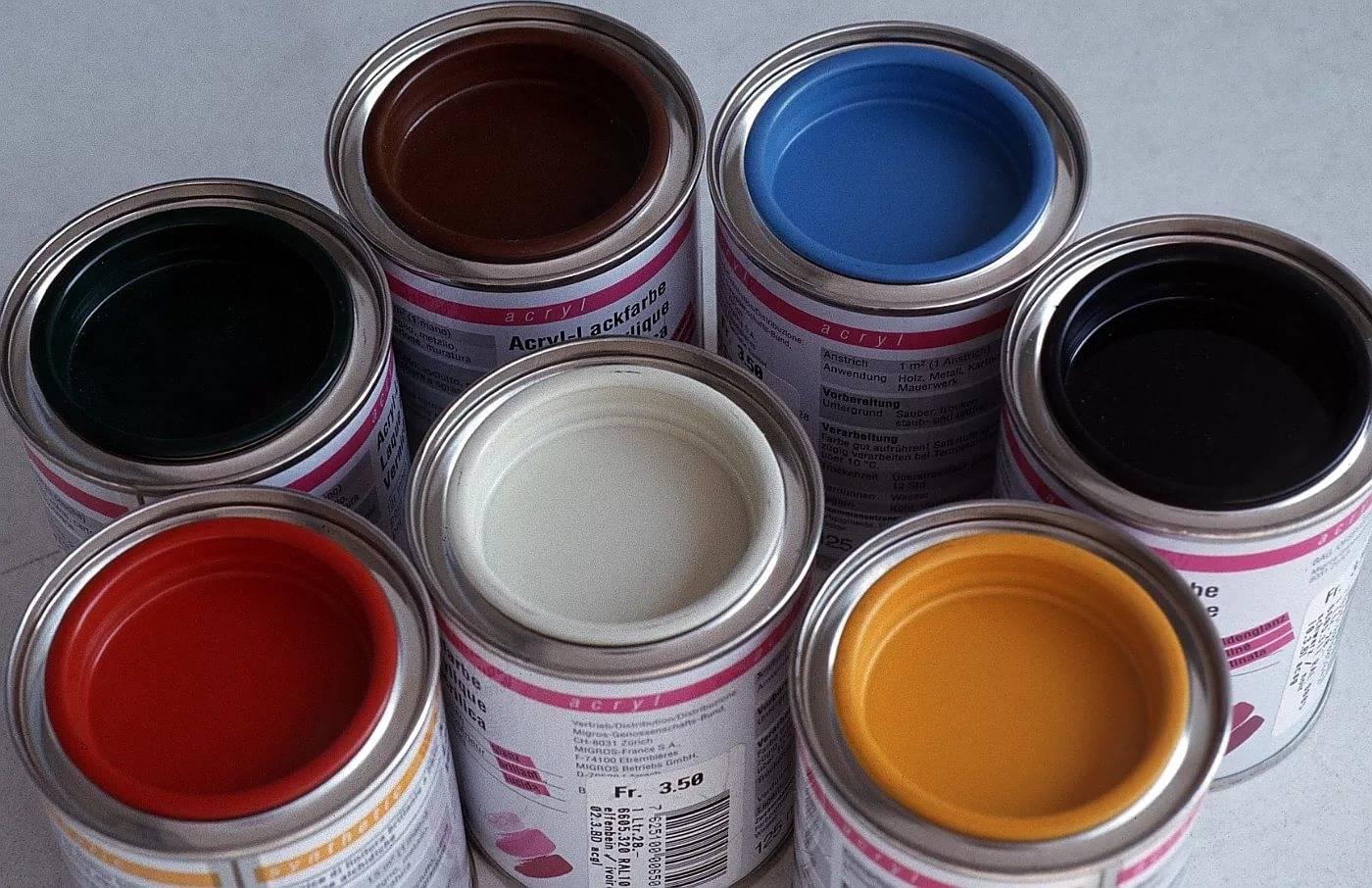 Акриловая эмаль: виды и применение, достоинства составов на акриловой основе | в мире краски