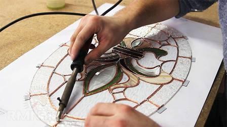 Изготовление витражей. как сделать витраж своими руками. стеклянные витражи. трафареты и рисунки витражей. витражи своими руками.