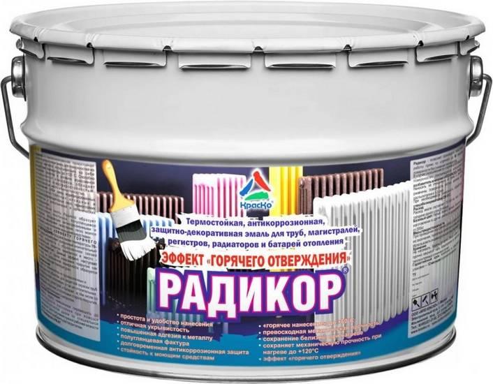Краска для радиаторов отопления: быстросохнущая эмаль без запаха для батарей