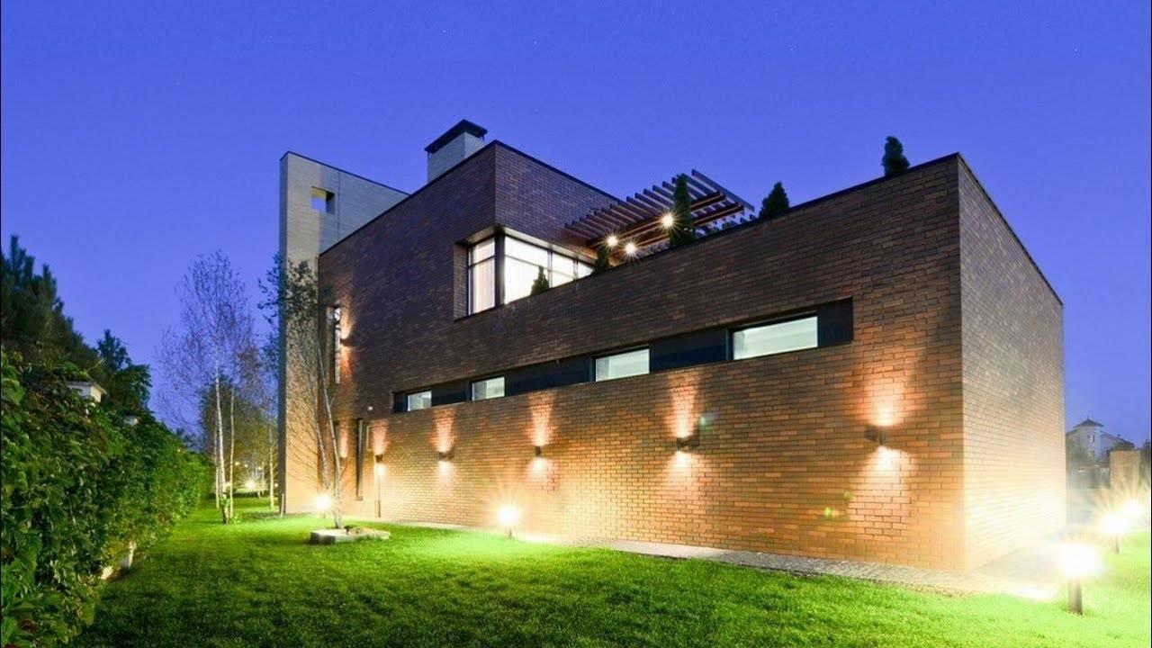 Подсветка фасадов - принципы и способы реализации светодизайна
