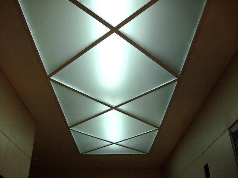 Как сделать стеклянный потолок - особенности и монтаж (+фото) | стройсоветы