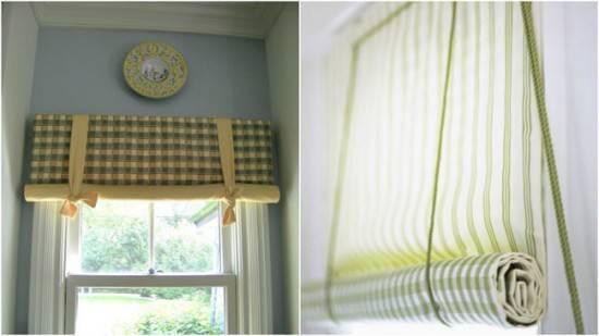 Рулонные шторы в интерьере, правила подбора