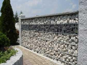 Забор из камня и дерева своими руками: проекты, фотогалерея и видео