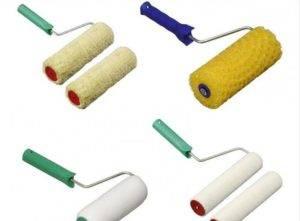 Характеристики валиков для работы с водоэмульсионными красками