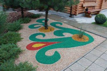 Дорожки из гравия садовые своими руками, как сделать тропинки из цветных мелких камней на даче правильно, аллея из крупного щебня и гальки