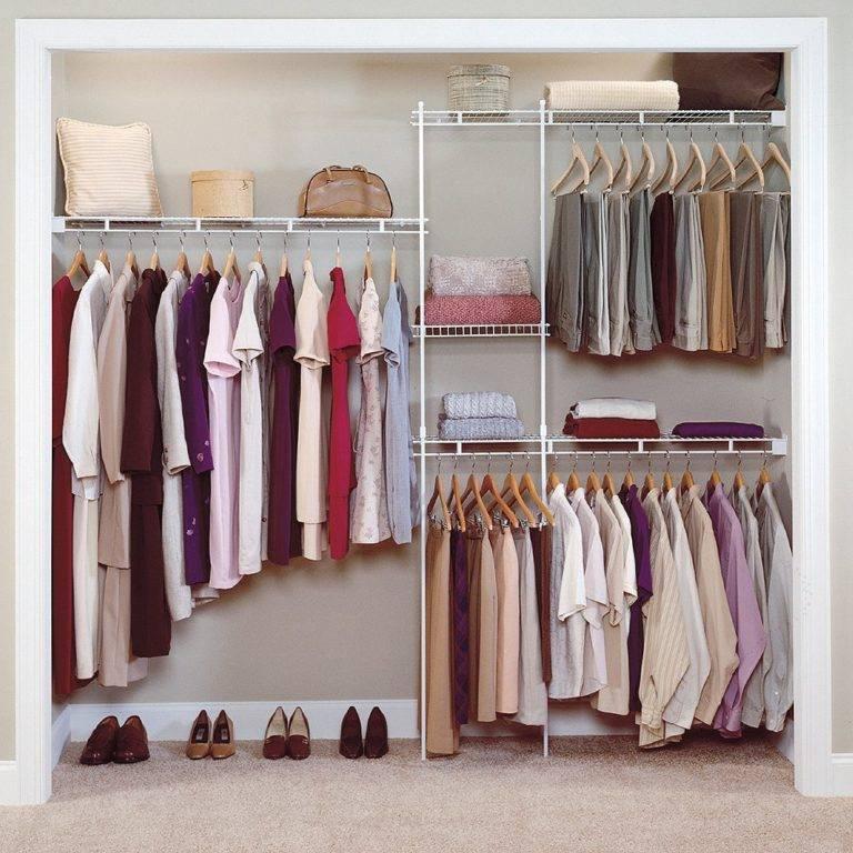 Системы хранения вещей для гардеробной: ассортимент брендов ikea, elfa, aristo