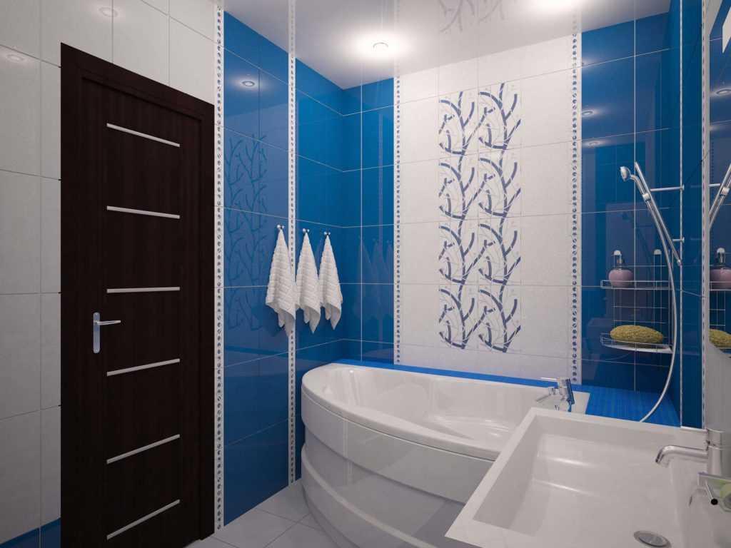Дизайн ванной площадью 2, 5 кв. м.