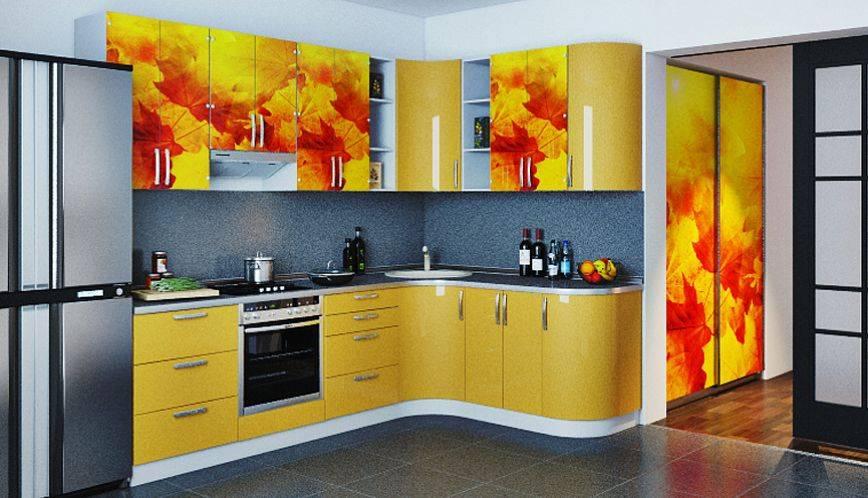 Дизайн кухни в ярких тонах: полезные советы, реальные фото примеры по обустройству