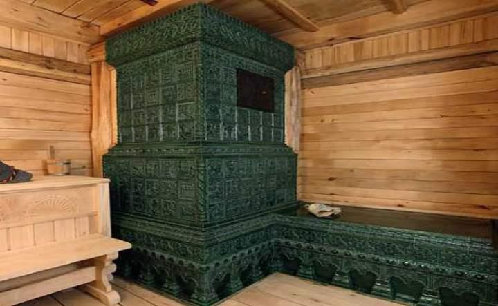 Отделка стены за и около печи или камина