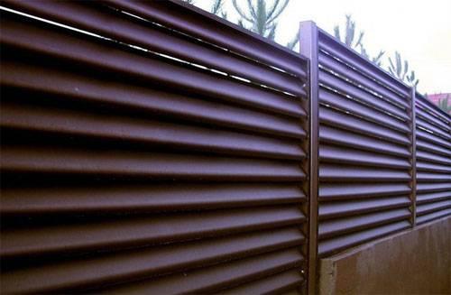 Забор из евроштакетника своими руками: расчёт и монтаж