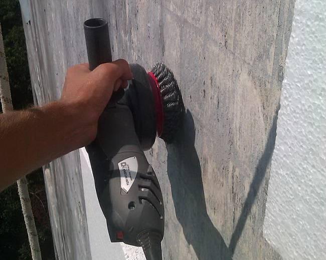 Крепление пеноплекса к бетонной стене - строим баню или сауну