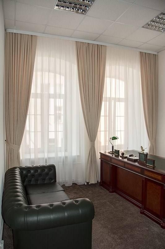 Выбираем шторы для кабинета: идеи оформления