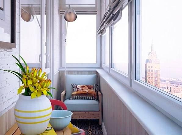 Технология утепления балкона с алюминиевым остеклением