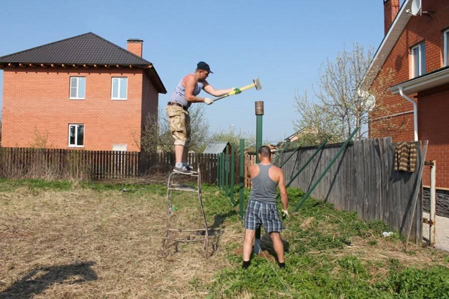Как сделать декоративный забор своими руками - пошаговая инструкция, фото идеи