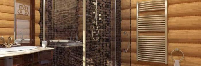 Способы гидроизоляции ванной комнаты, расположенной в деревянном доме