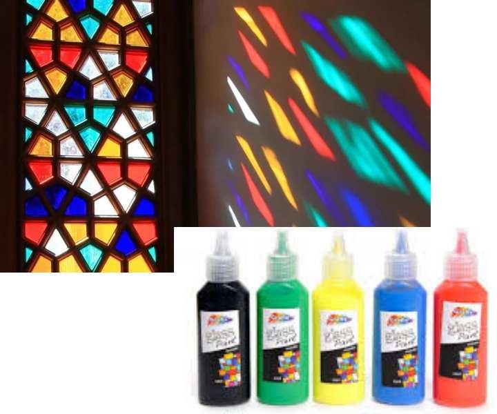 Как сделать витражные краски своими руками в домашних условиях