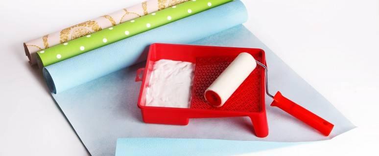 Универсальный обойный клей: какой нужен для бумажных, тяжелых виниловых и пвх