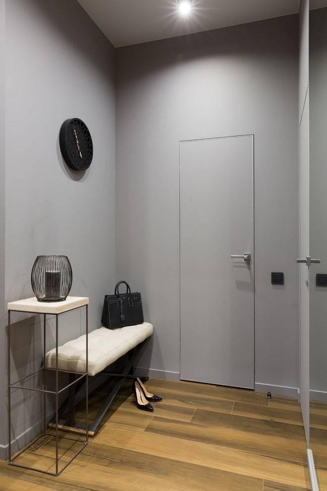 Серые двери в интерьере превосходны - делаем выбор - 32 фото