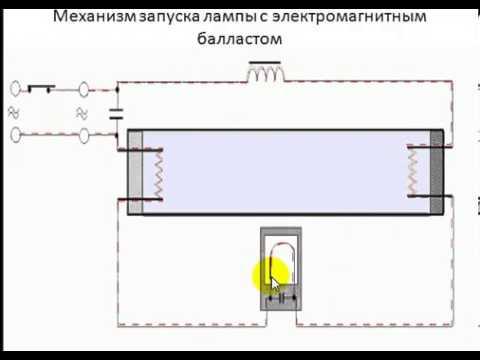 Схема подключения люминесцентных ламп - пошаговая инструкция!