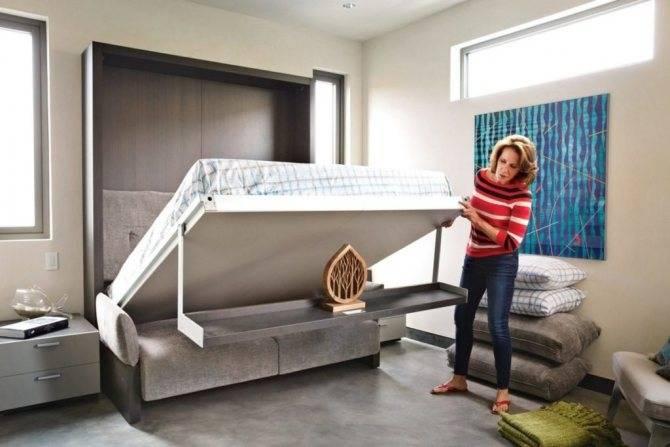 Кровать-трансформер, ее функционал, особенности и преимущества