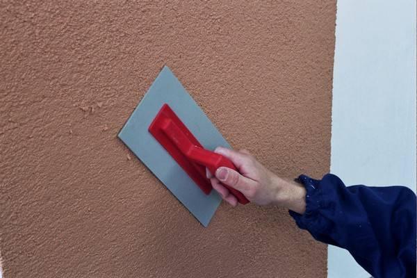 Штукатурка под шубу – простой и недорогой способ декоративной отделки фасада