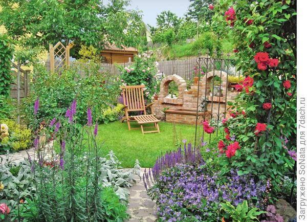 Дизайн садового участка своими руками — лучшие идеи, фото -
