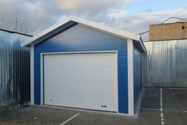 Строительство гаража из сэндвич панелей своими силами - полный процесс и чертеж гаража