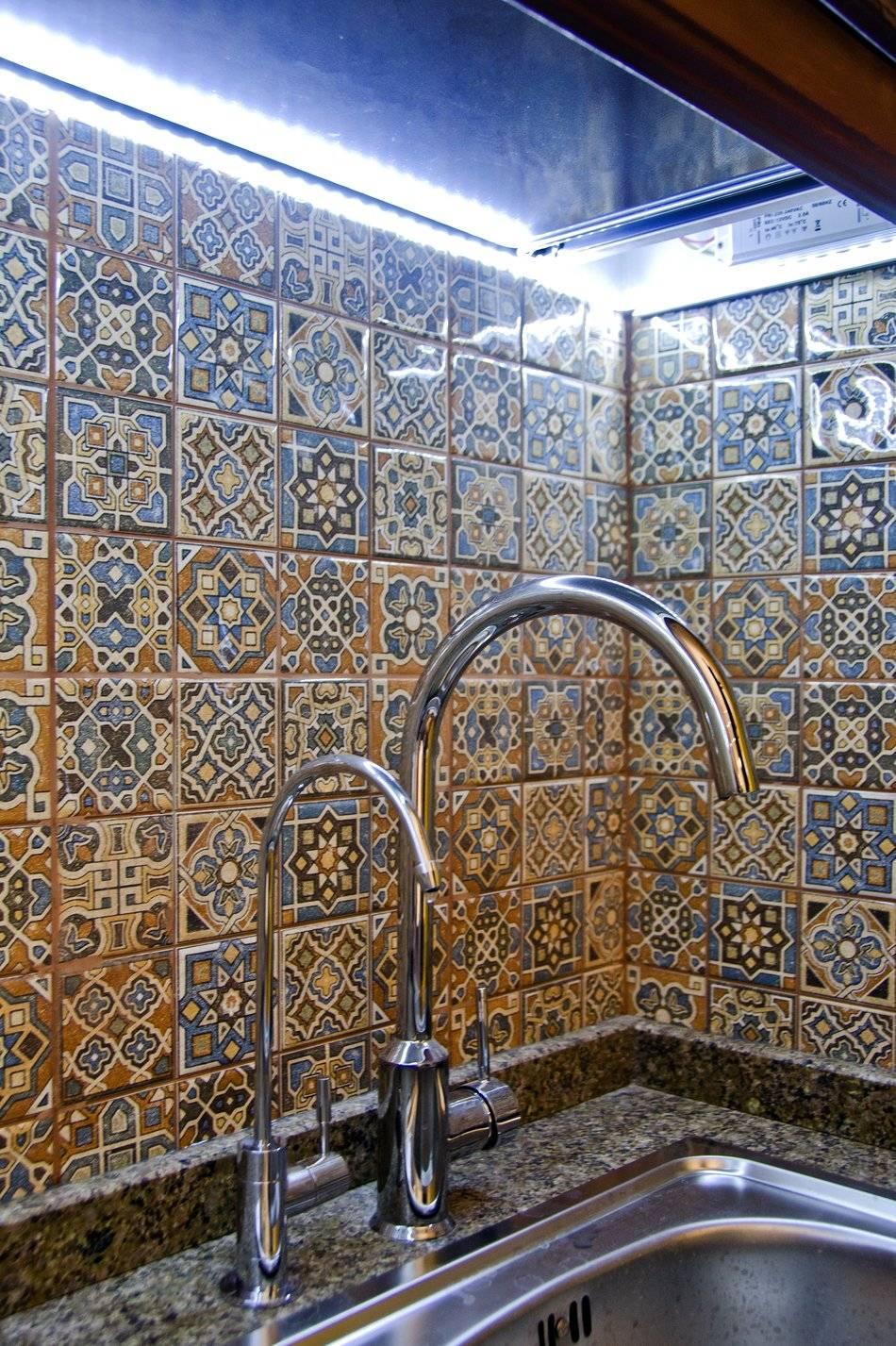 Кухня в марокканском стиле - элегантность и красота (75 фото)