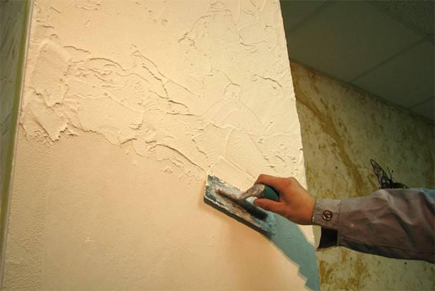 Декоративная штукатурка - 100 фото технологии применения для стен и потолка