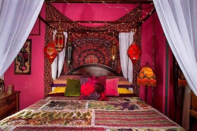 Индийский стиль в интерьере - 75 фото необычных идей дизайна