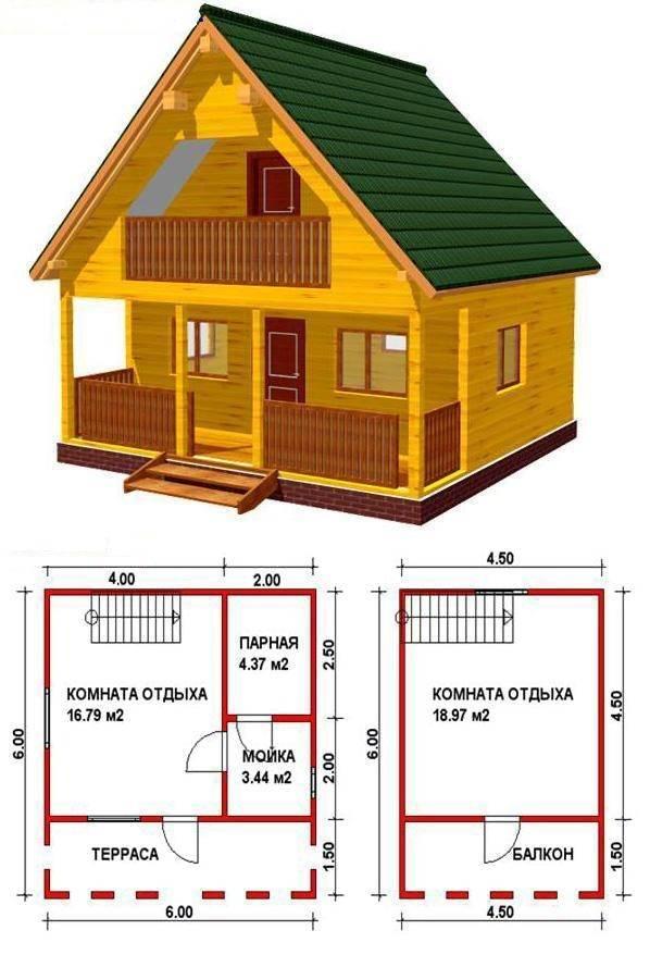 Постройка дома из бруса своими руками: этапы работы (видео)
