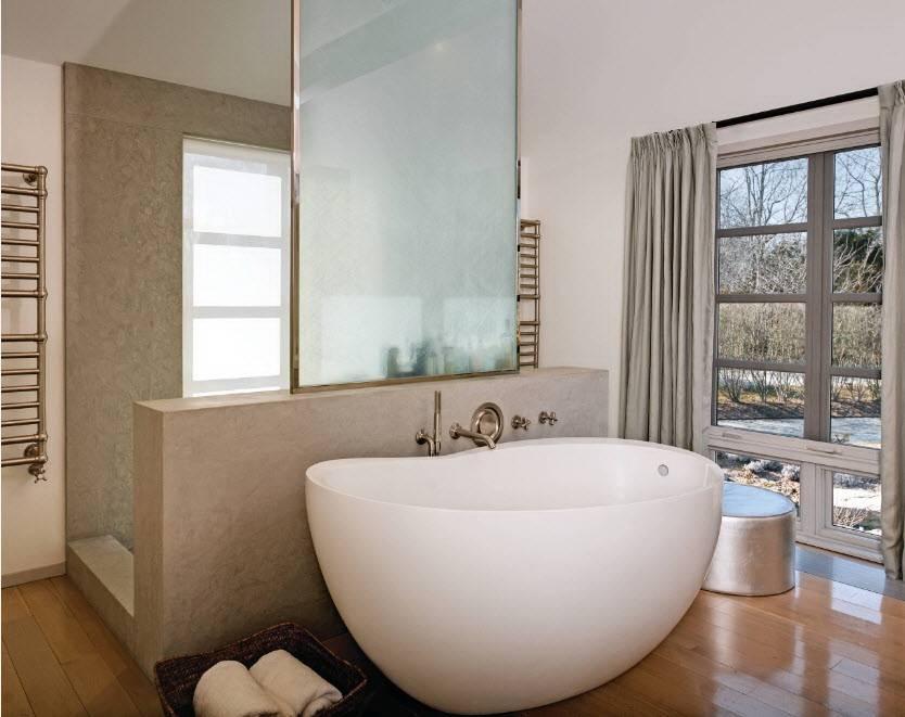 Выбор ванны: чугун или акрил? - советы по ремонту