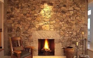 Отделка стен камнем: красивые варианты оформления при помощи искусственного и натурального камня (130 фото)