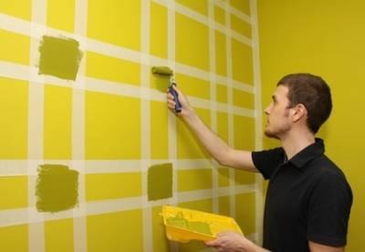 Раз полоска, два полоска – будет стеночка! Красим стены в полоску