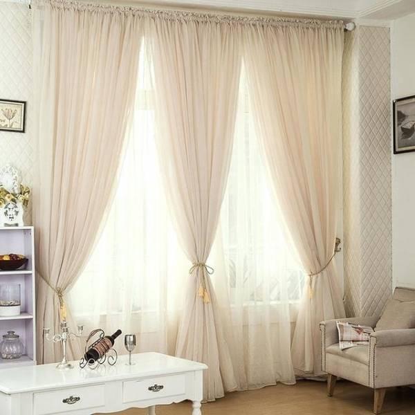 Как красиво повесить шторы - 110 фото и пошаговая инструкция применения штор