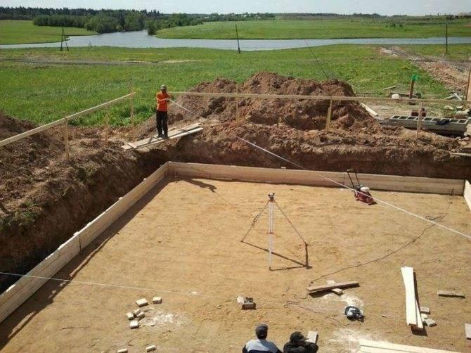 Фундамент на буронабивных сваях с сложными грунтами
