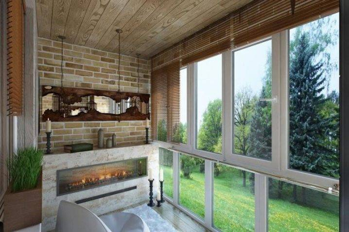 Дизайн каминов (72 фото): современная столовая, балкон, прихожая, веранда, студия, коридор и ресторан с камином