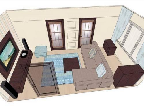Перестановка мебели в квартире, последовательность действий